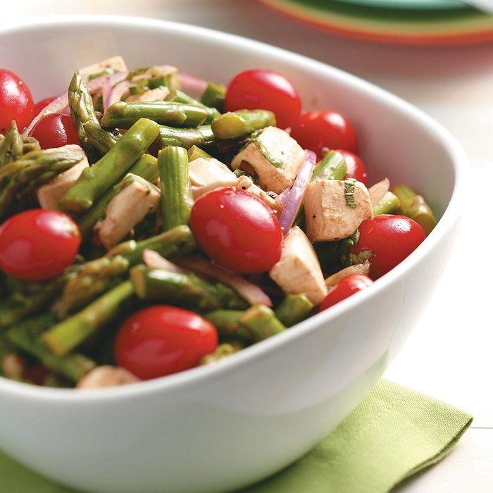 Asparagus Mozzarella Salad