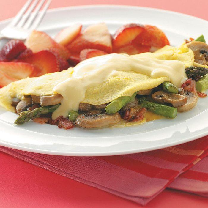 Asparagus Omelet