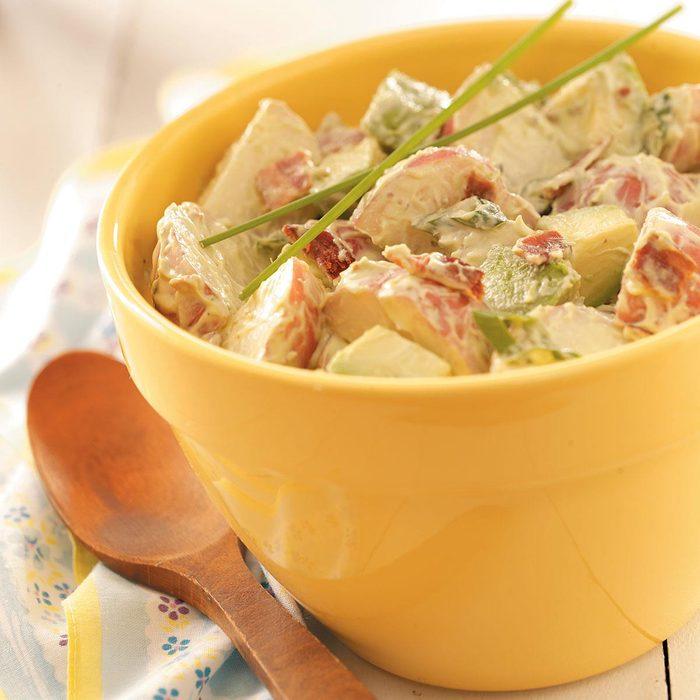 Avocado Potato Salad