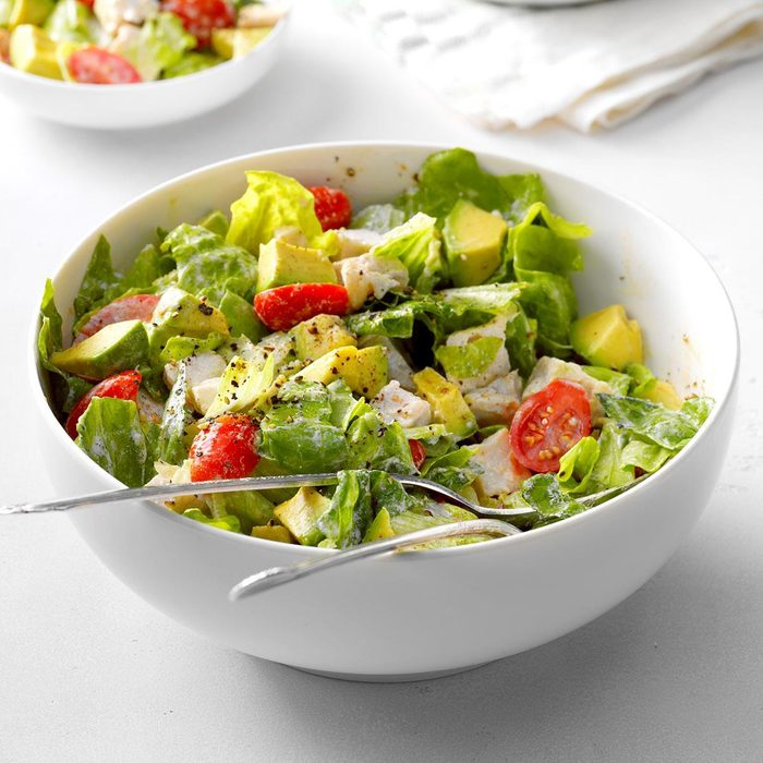 Day 6 Lunch: Avocado Turkey Salad