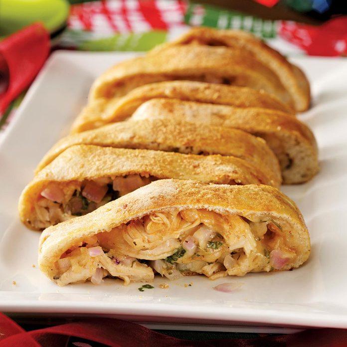 BBQ Chicken Pizza Roll-Up