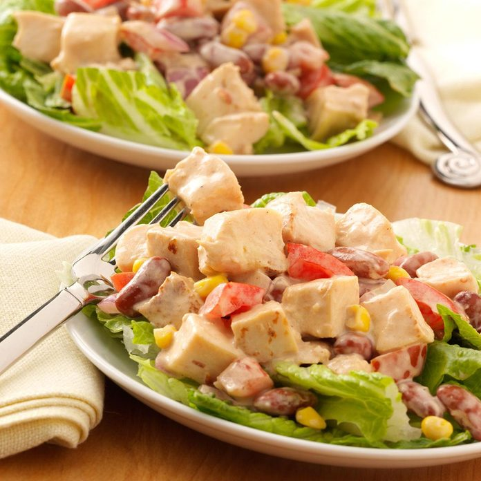 Inspired by: Wendy's BBQ Ranch Chicken Salad