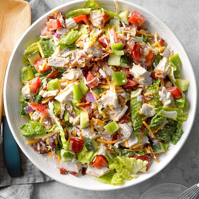 BLT Turkey Salad