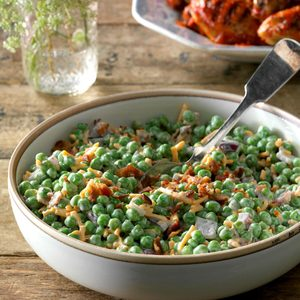 Bacon Pea Salad