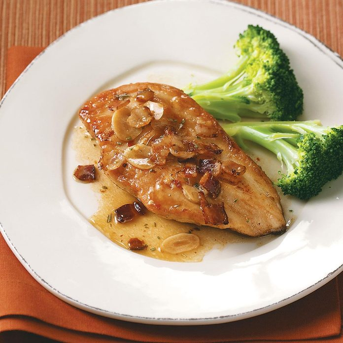 Bacon & Rosemary Chicken for Two