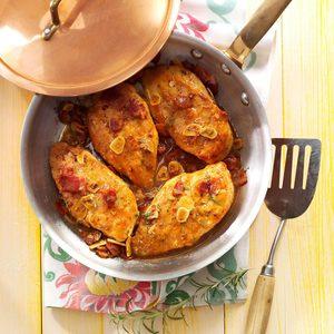 Bacon & Rosemary Chicken