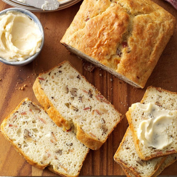 Bacon Walnut Bread With Honey Butter Exps133395 Thca143053c09 11 9bc Rms