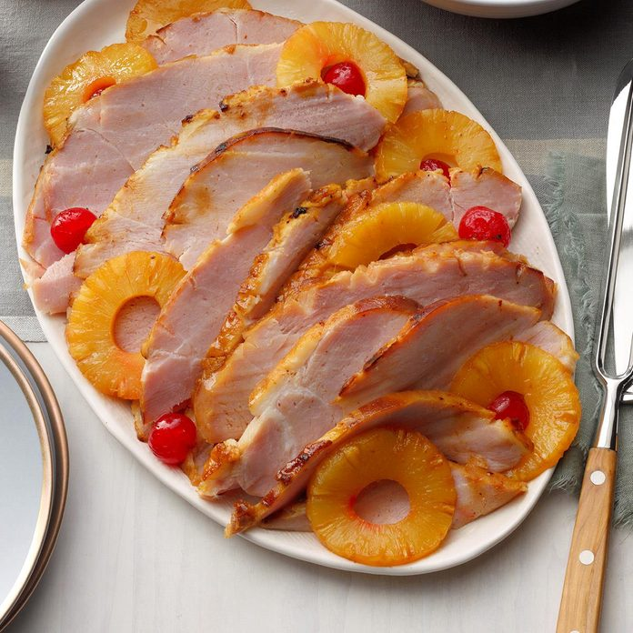 Baked Ham With Pineapple Exps Tohcom19 13087 B10 01 11b 3