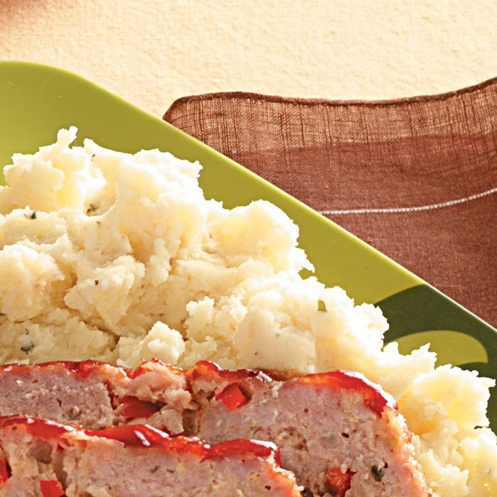 Baked Home-style Mashed Potatoes