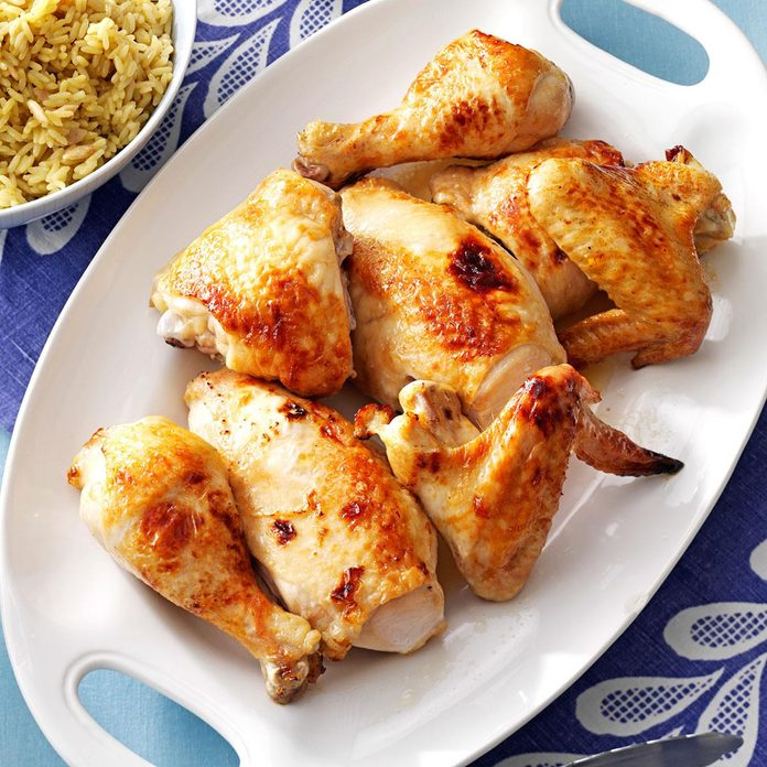 Baked Honey-Glazed Chicken