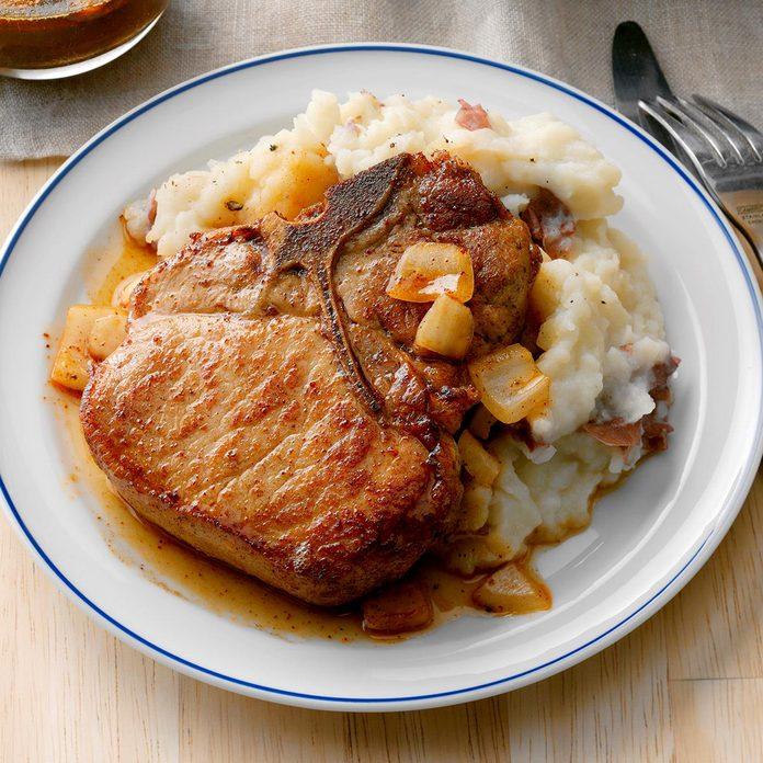 Baked Saucy Pork Chops