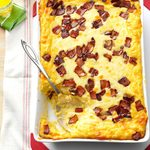 Baked Two-Cheese & Bacon Grits