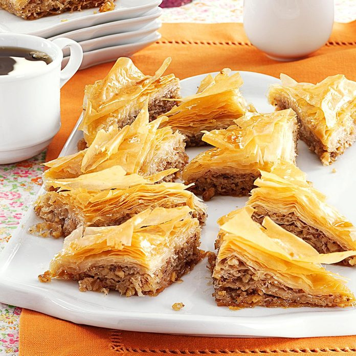 Baklava With Honey Syrup Exps161288 Thhc2377564c07 11 4bc Rms 2