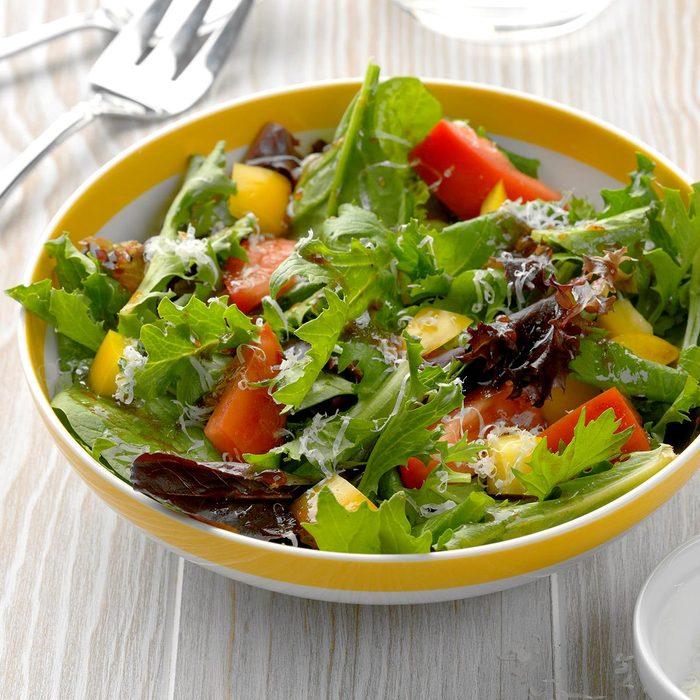Balsamic Asiago Salad