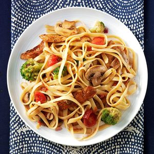 Balsamic Chicken Fettuccine