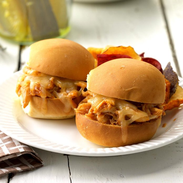 Barbecue Chicken Sliders