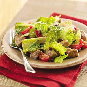 Barbecue Pork Salad