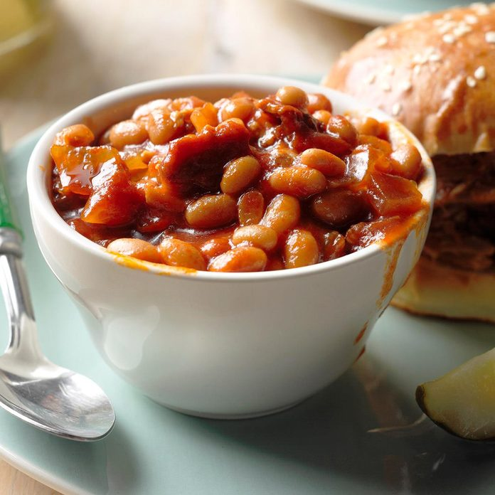 Day 12: Barbecued Beans