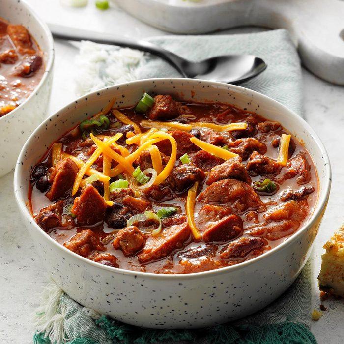 Beef Brisket Chili
