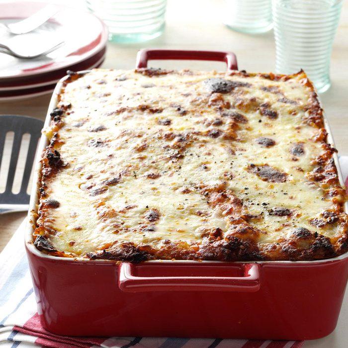 Mom's Beef Lasagna