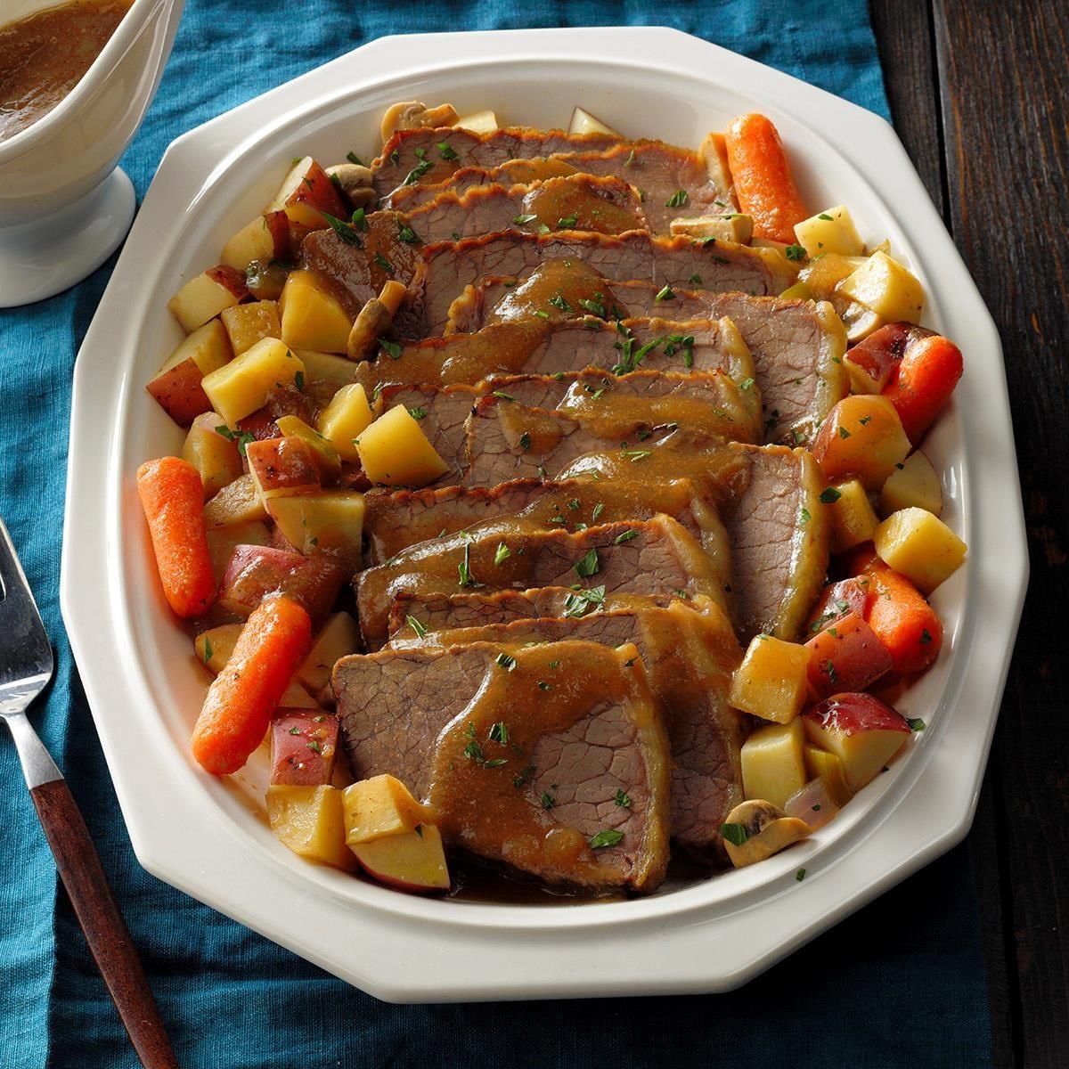 Day 28: Beef Roast Dinner
