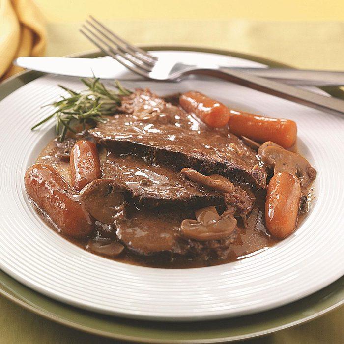 Beef Roast with Gravy
