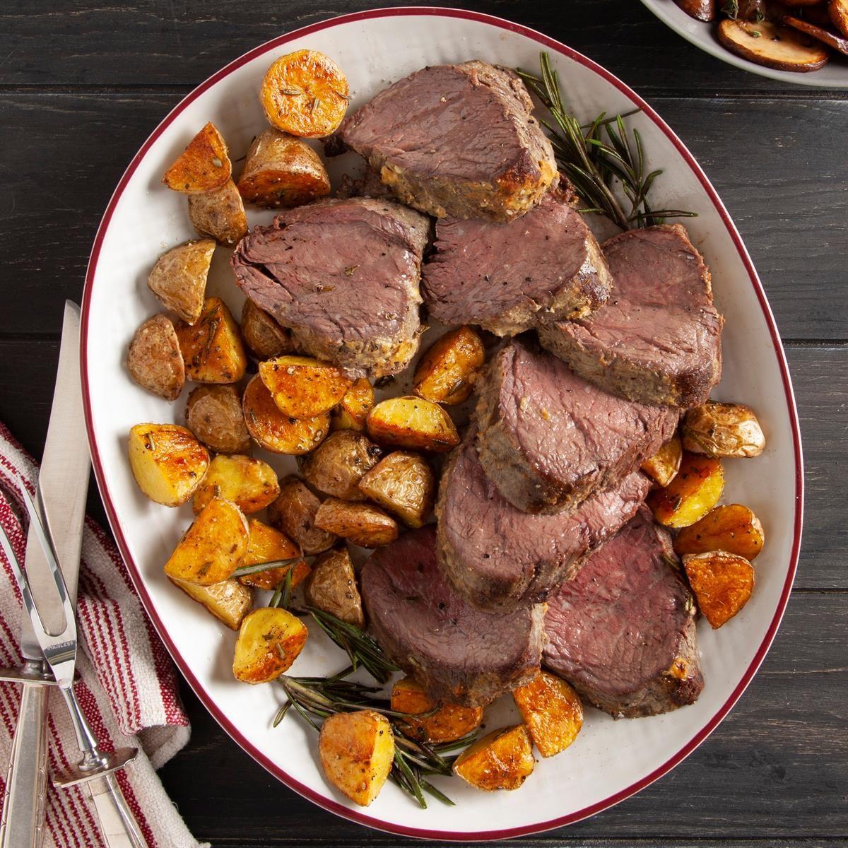 Day 6: Beef Tenderloin Roast
