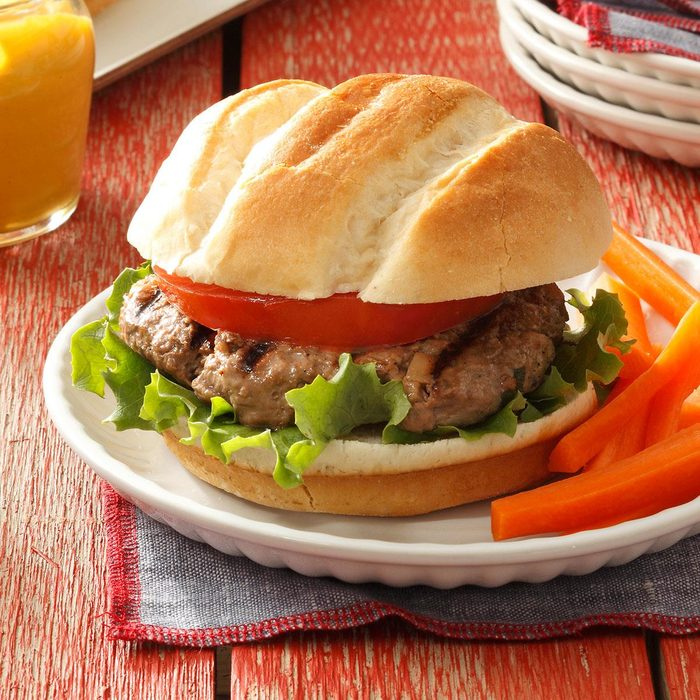 Beef Teriyaki Burgers