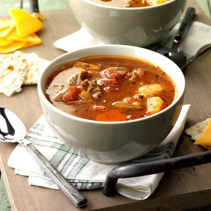 Beef Vegetable Soup