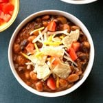 Beef and Bean Taco Chili