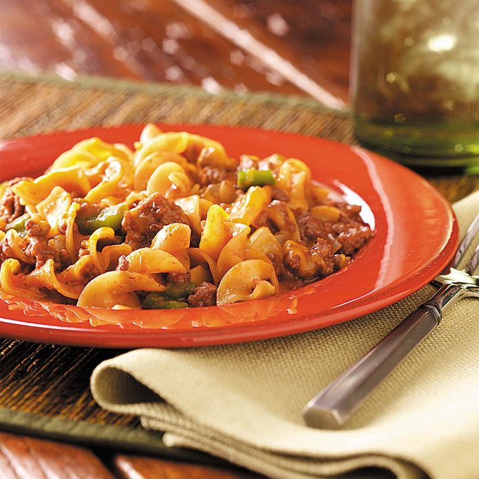 Beef and Noodle Casserole