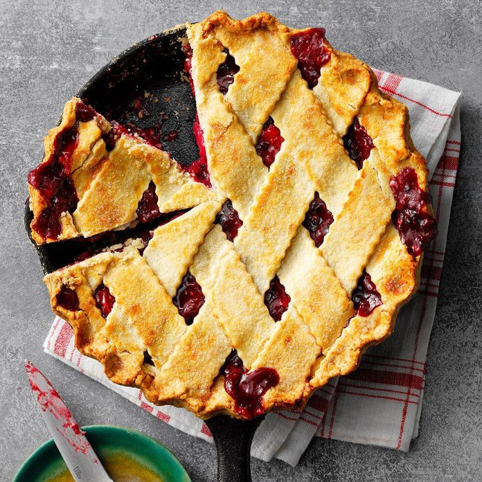Berry-Apple-Rhubarb Pie