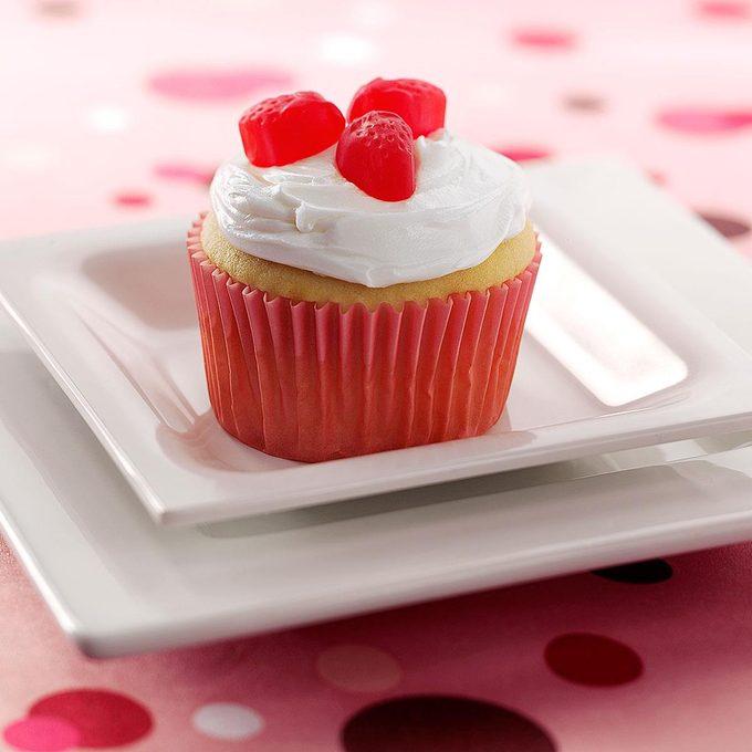 Berry Surprise Cupcakes