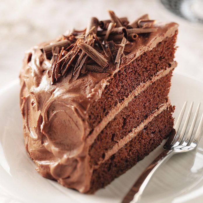 Inspired by: Chocolate Fudge Cake