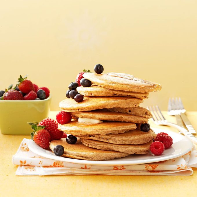 Better-For-You Buttermilk Pancakes
