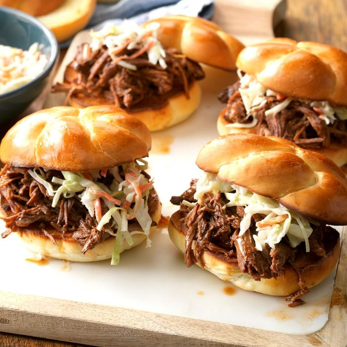 Beef Barbecue Sandwiches