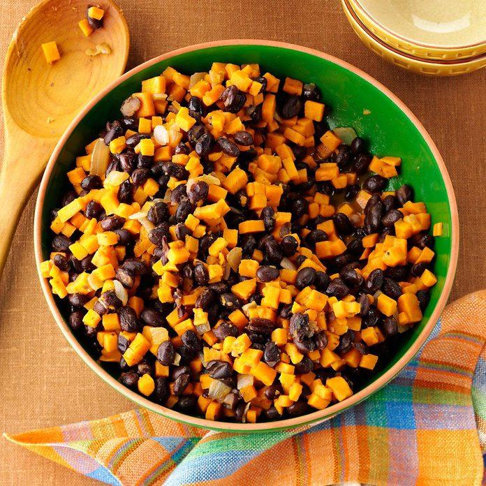 Black Bean-Sweet Potato Skillet