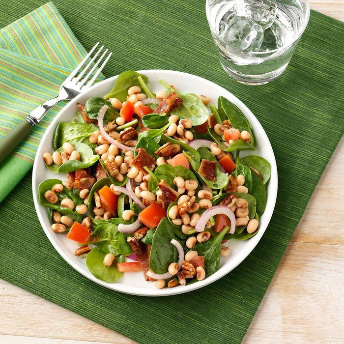 Black Eyed Pea Spinach Salad Exps131158 Baftf2307047d03 07 4bc Rms