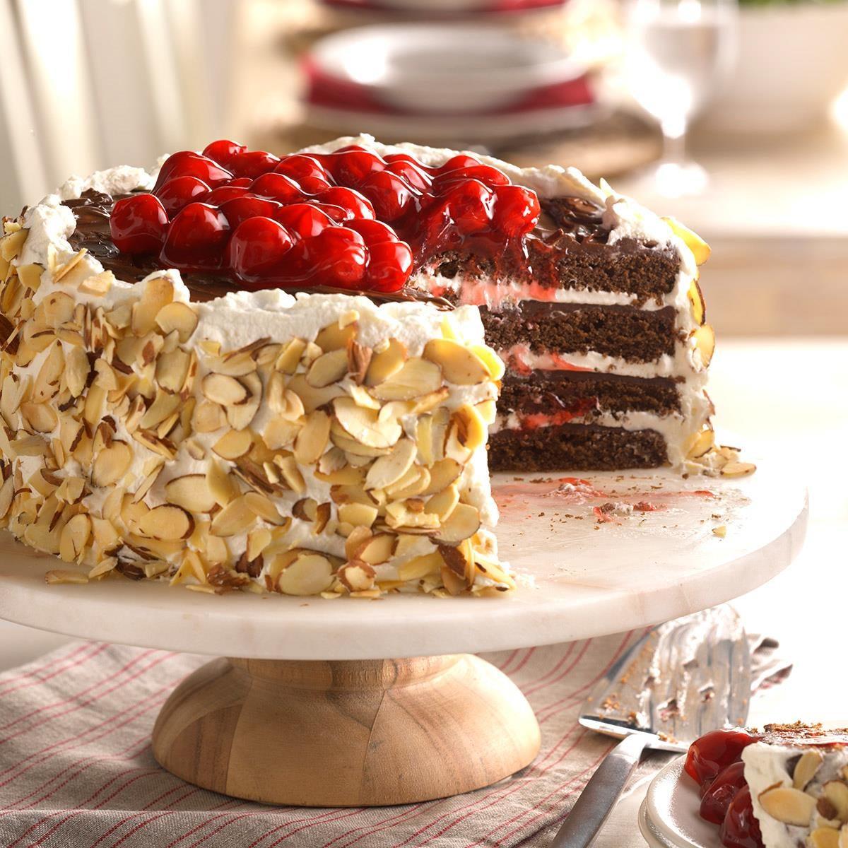 Nebraska: Black Forest Chocolate Torte
