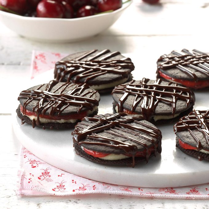 Black Forest Icebox Cookies