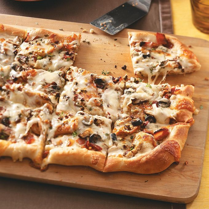Black-and-Blue Pizzas