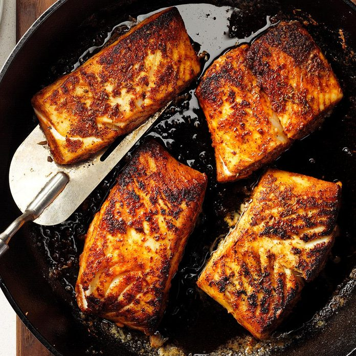 Inspired by: Hearth-Roasted Halibut