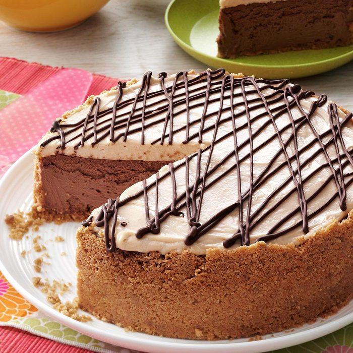 Blissful Peanut Butter-Chocolate Cheesecake