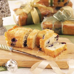 Blueberry Colada Mini Loaves