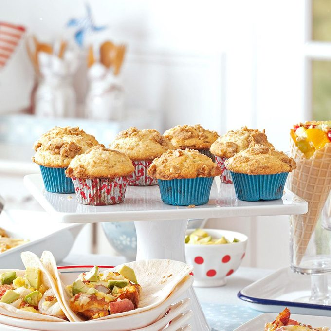 Blueberry-Filled Muffins