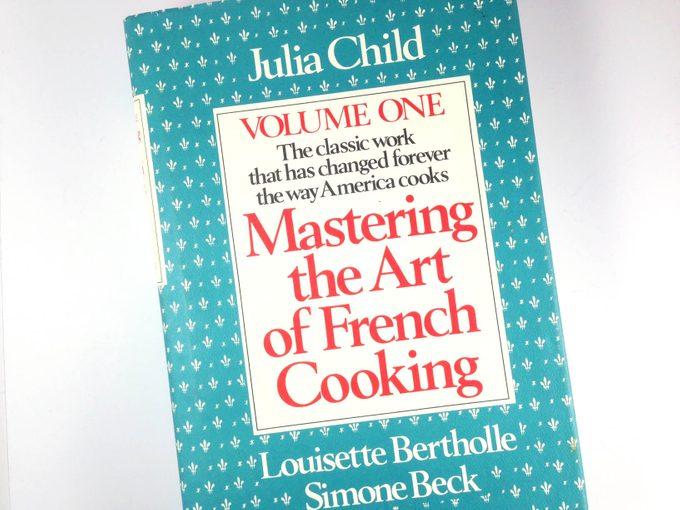 Julia Child book
