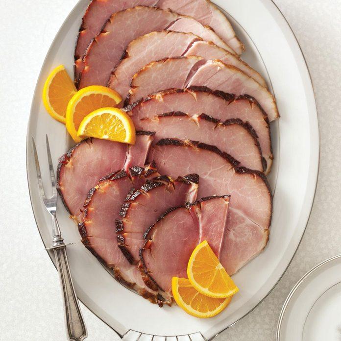 Bourbon-Glazed Ham