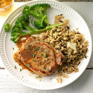Braised Pork Loin Chops
