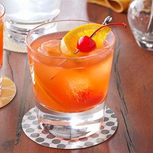 Brandy Old-Fashioned Sweet