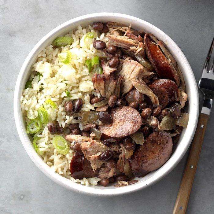 Brazilian Pork & Black Bean Stew